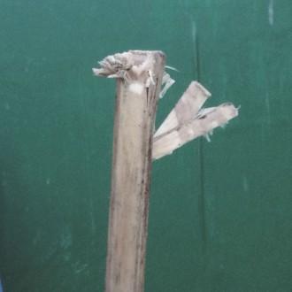 Fix Broken Windbreak Pole